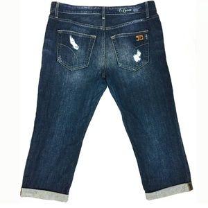 Joe's Jeans Ex Lover Cropped Capri Jeans 32x23